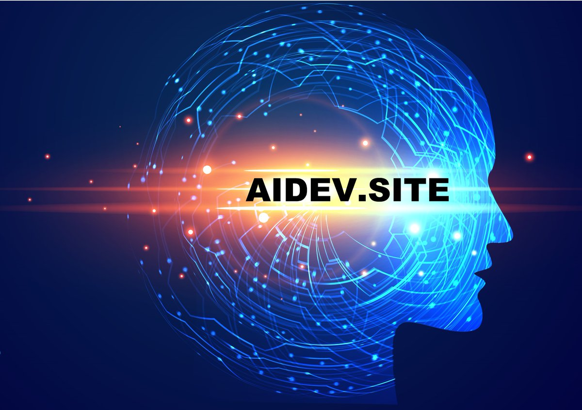 http://AIDEV.SITE  for #visionary #developers!#MachineVision #site #vision #MachineLearning #AI #artificialintelligence #dev #DeepLearning #Developer #data #computerscience #DataScience #FacialRecognition #ComputerVision #DataPrivacy #technology #aidev #DomainNameForSale