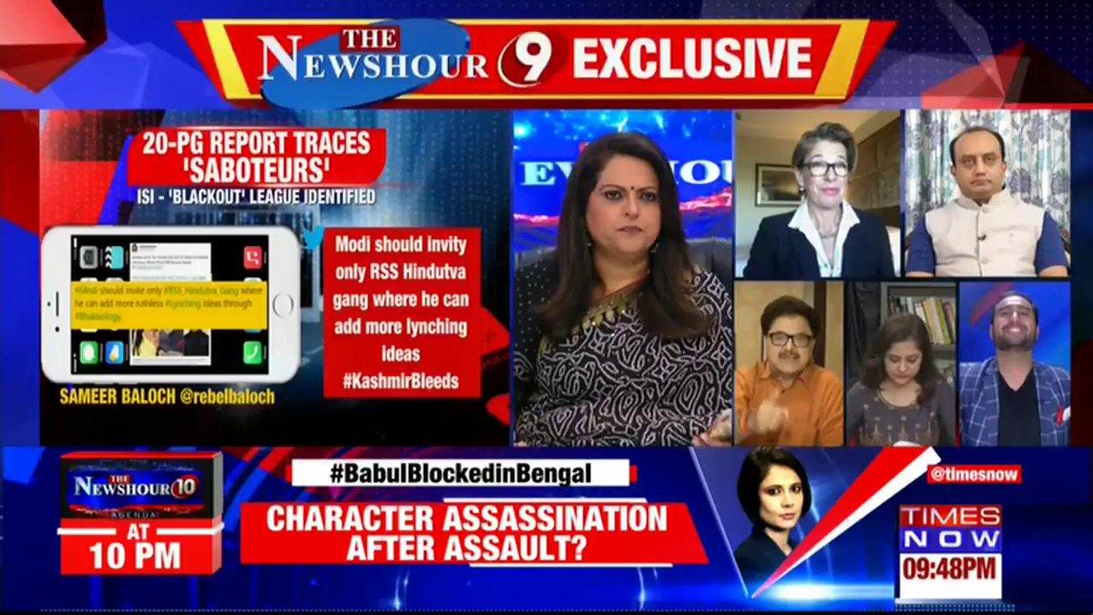 Watch: The debate gets heated on @thenewshour with Navika Kumar. |  #ModiAwardGateDossier