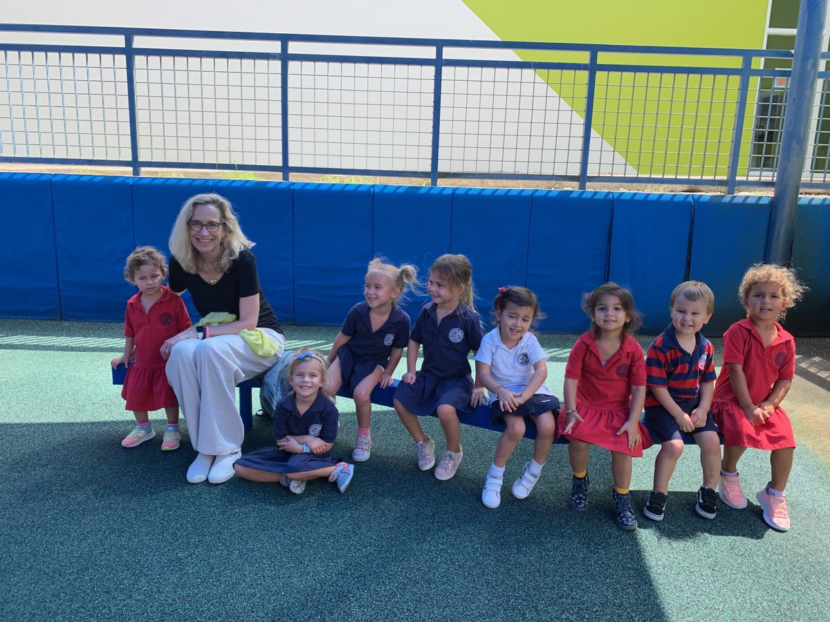 It is impossible to have a bad day @OfficialMCDS when you hang out with the 3yo class!! #JOY