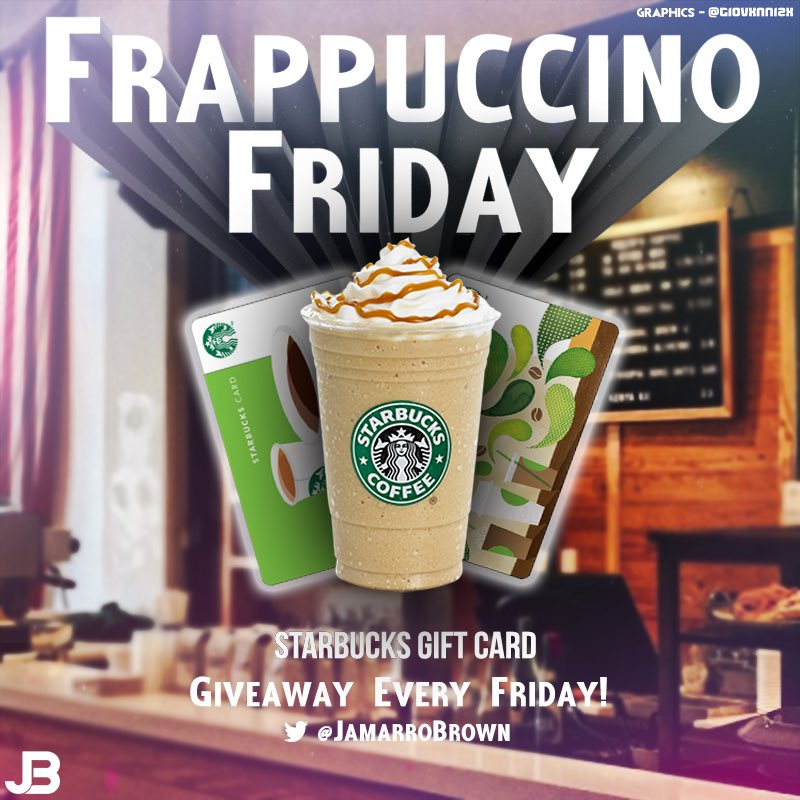 FRAPPUCCINO FRIDAY starts NOW. @Starbucks ON ME! 1. Follow 2. RETWEET 3. Tell me why you need coffee  4. ENJOY YOUR STARBUCKS. You must follow all rules WINNER AT 10A CENTRAL  This weeks generous donations from: @kixfanwithkids Thank you very much!<br>http://pic.twitter.com/X2KR6EClW1