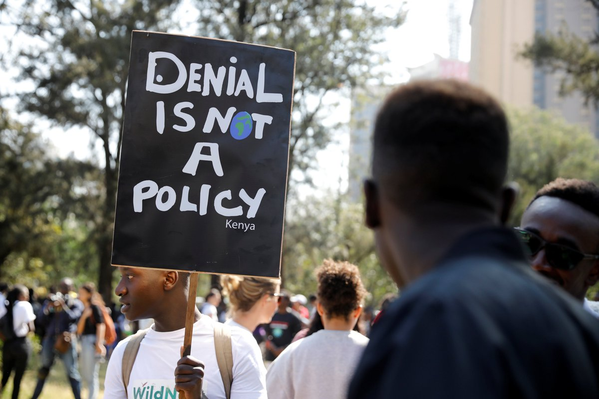 Millions of young people around the world are leading a #GlobalClimateStrike to demand action on climate change:🇰🇪 Kenya🇬🇷 Greece🇮🇳 India🇩🇪 Germany