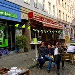 Image for the Tweet beginning: Kuschelzeit 😉 beim #PARKingDay mit