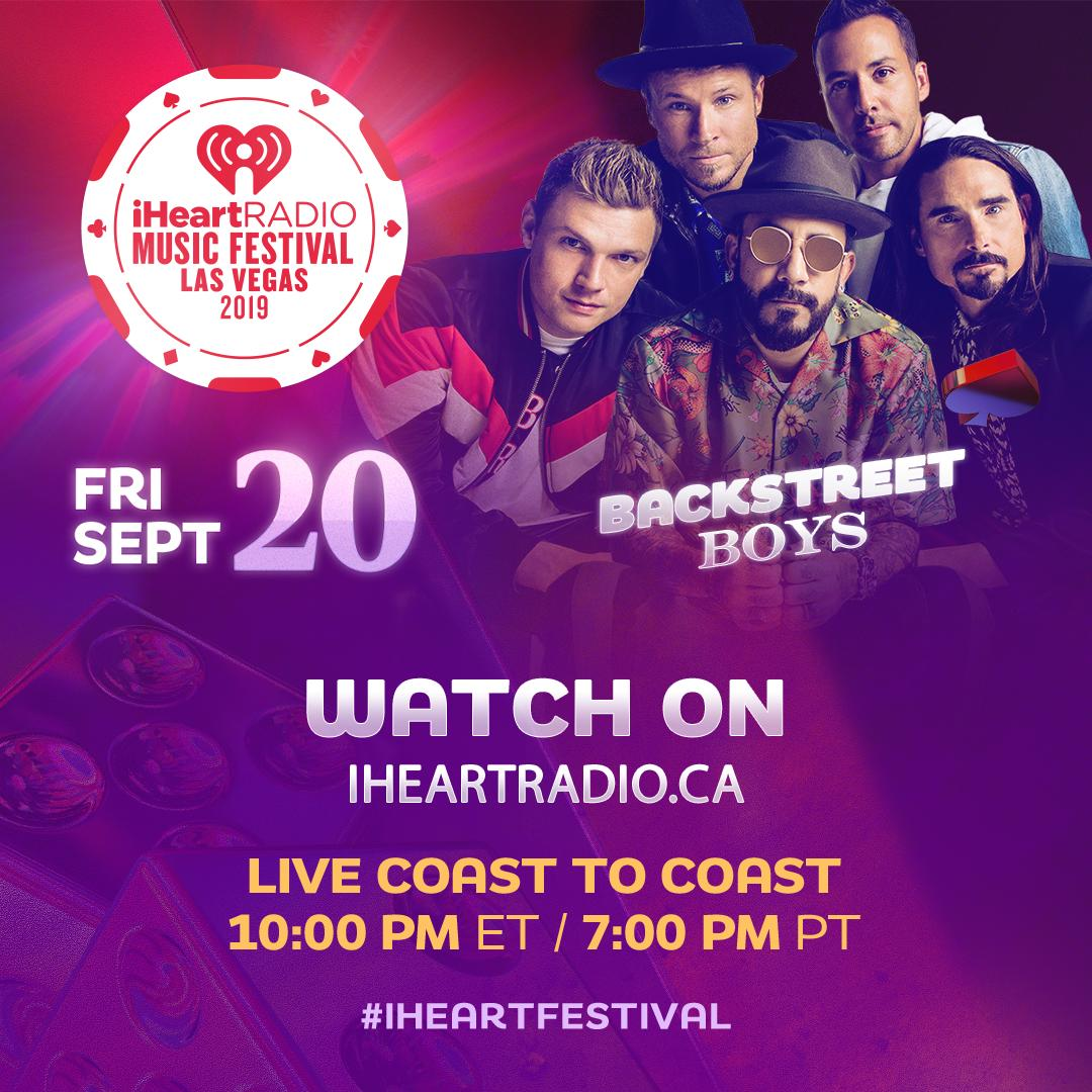 TONIGHT  See performances from @backstreetboys @Camila_Cabello @halsey @OfficialMonstaX and MORE!  Stream #iHeartFestival2019 LIVE starting at 10PM ET at  https://www. iheartradio.ca/events/iheartr adio-music-festival-2019   … <br>http://pic.twitter.com/nWkD4smH5p