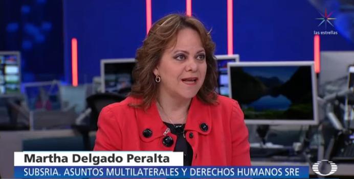 #Ahora Platicamos con @marthadelgado, subsecretaria para Asuntos Multilaterales y Derechos Humanos @SRE_mx. #Despierta. Síguelo por TW http://ow.ly/gcZh50whBK5 y FB http://ow.ly/S2Cd50whBL8