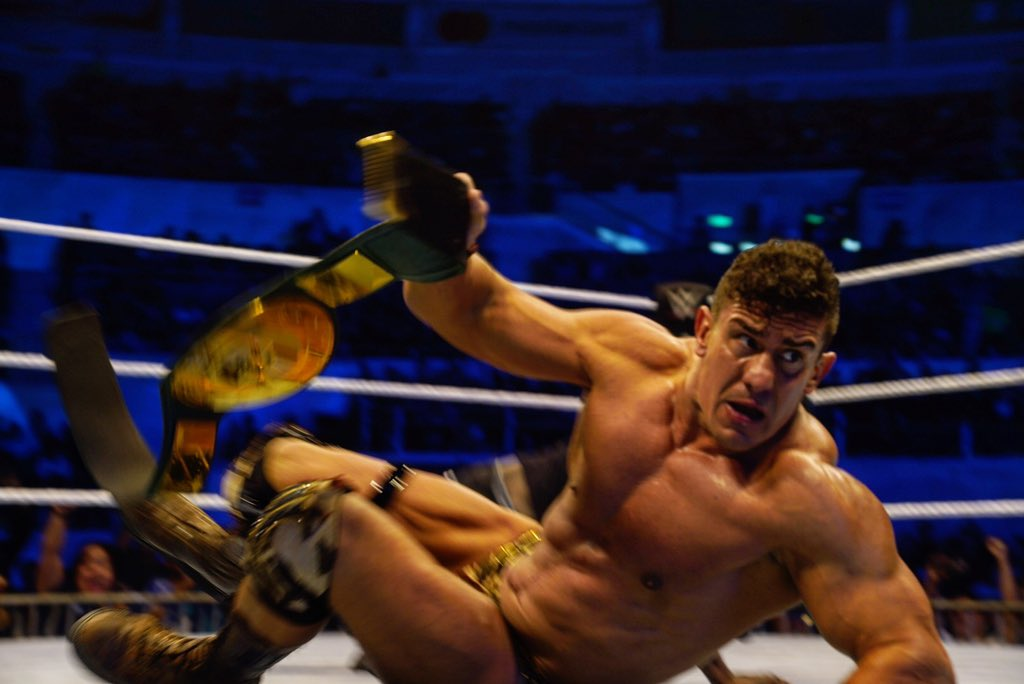 EC3 Wins, Loses WWE 24/7 Title In Manila (Photos)