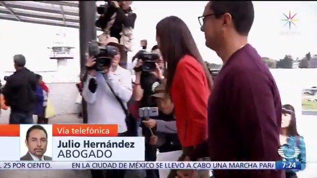 """""""No hay juicio justo para Rosario Robles"""": Julio Hernández Barros, abogado.#Despierta con @daniellemx_ y @campossuarez"""