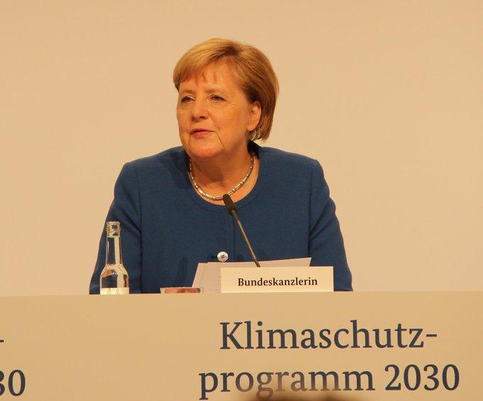 """BK Merkel: """"Soziale Marktwirtschaft mit der ökologischen"""