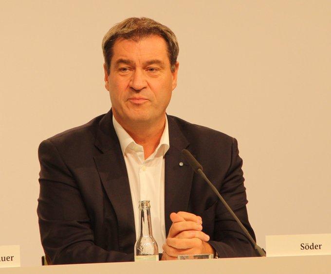 """MP M. Söder: """"In Bayern bleiben unsere Regeln bestehen"""
