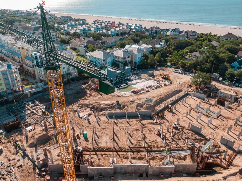 A little update on the Donley's Concrete Group's work on the Wild Dunes Resort in South Carolina. #projectprogress #oceanview