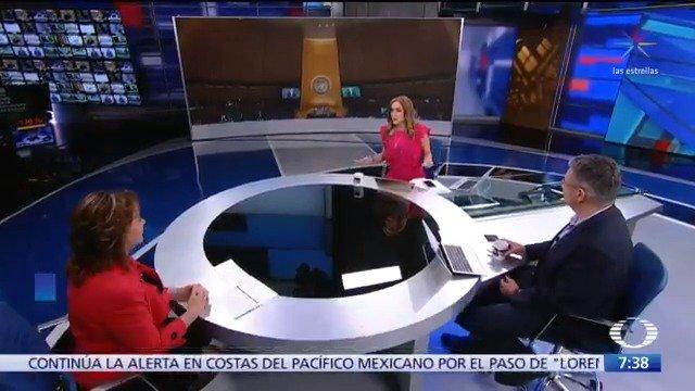 74 Asamblea General de la ONU ¿Qué temas pondrá México en la mesa? Platicamos con @marthadelgado de la SRE.#Despierta con @daniellemx_ y @campossuarez
