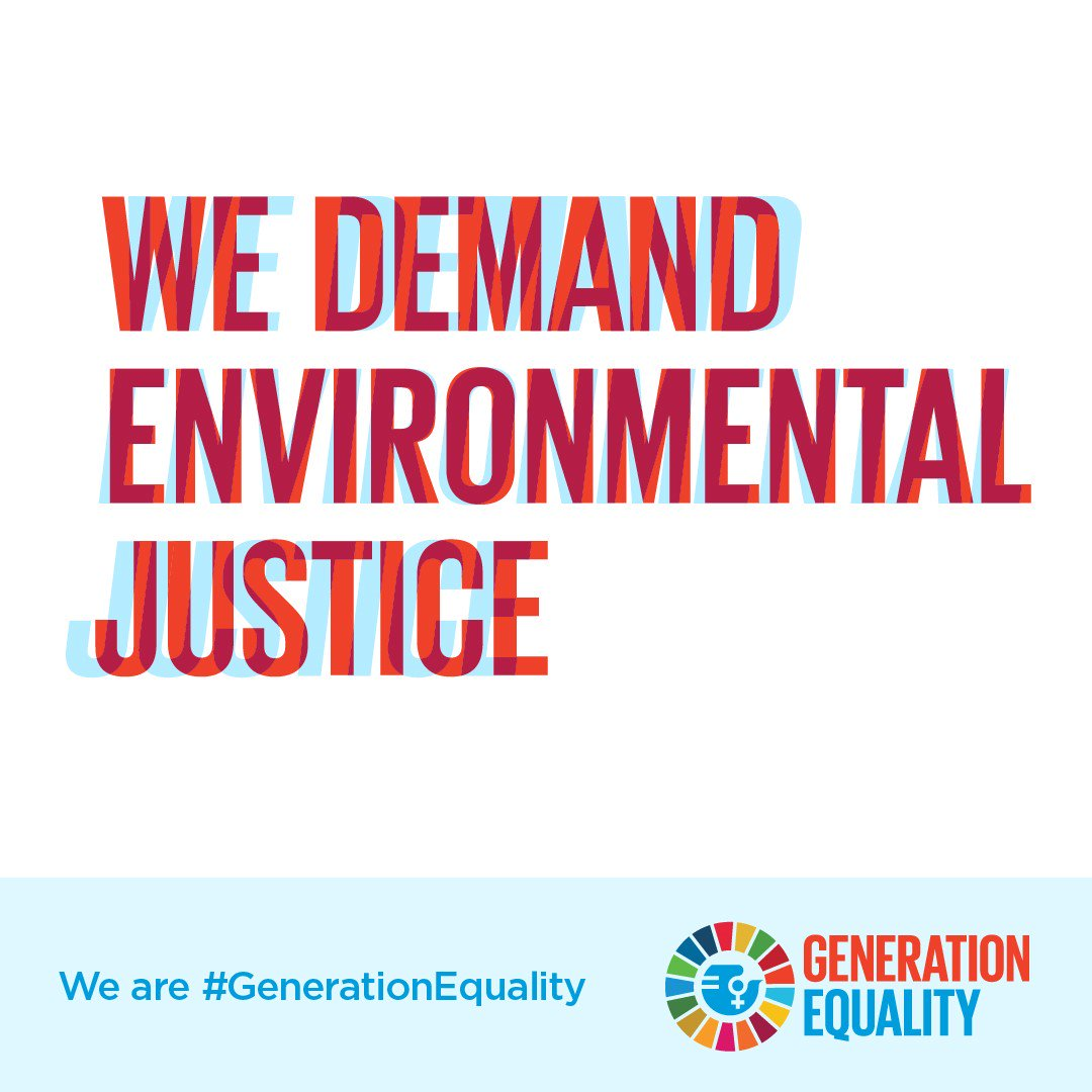 During the global #ClimateStrike, show what intersectional feminism looks like!Taking #ClimateAction is also taking action to realize women's rights. #FridaysForFuture #GenerationEquality
