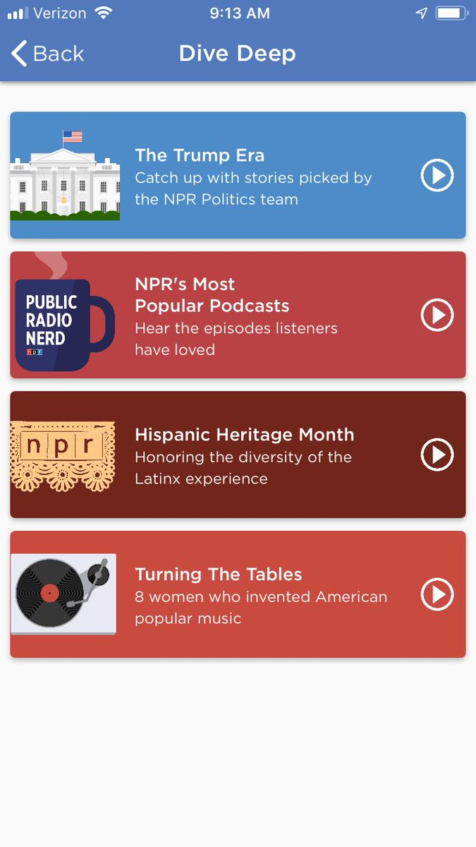 Have you looked in the Explore section of your NPR One mobile app recently? We have three new deep dives...