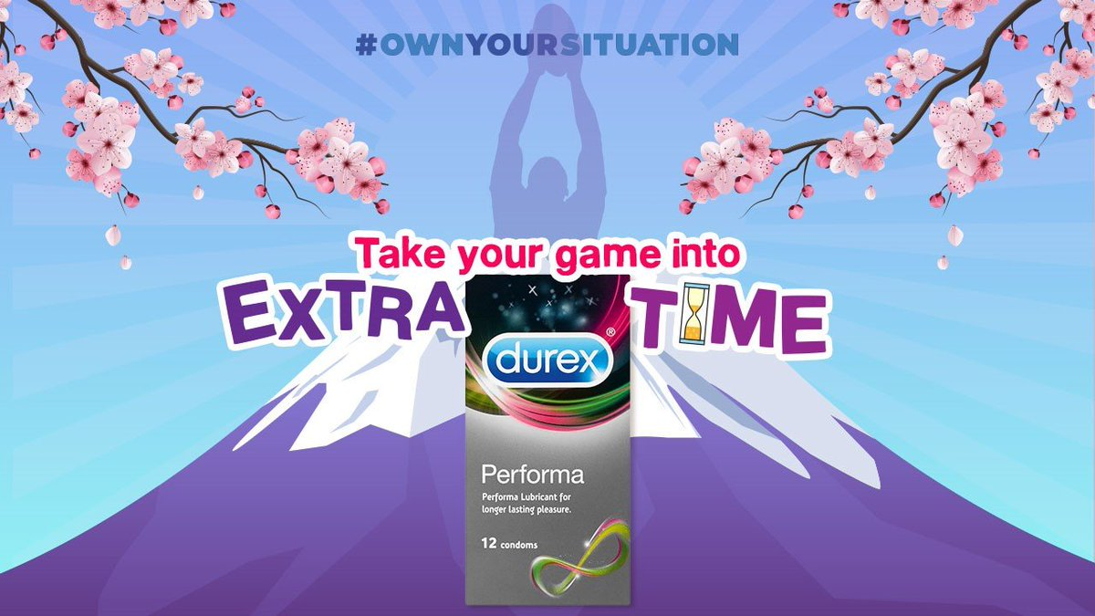 Take your game into extra time. #OwnYourSituation