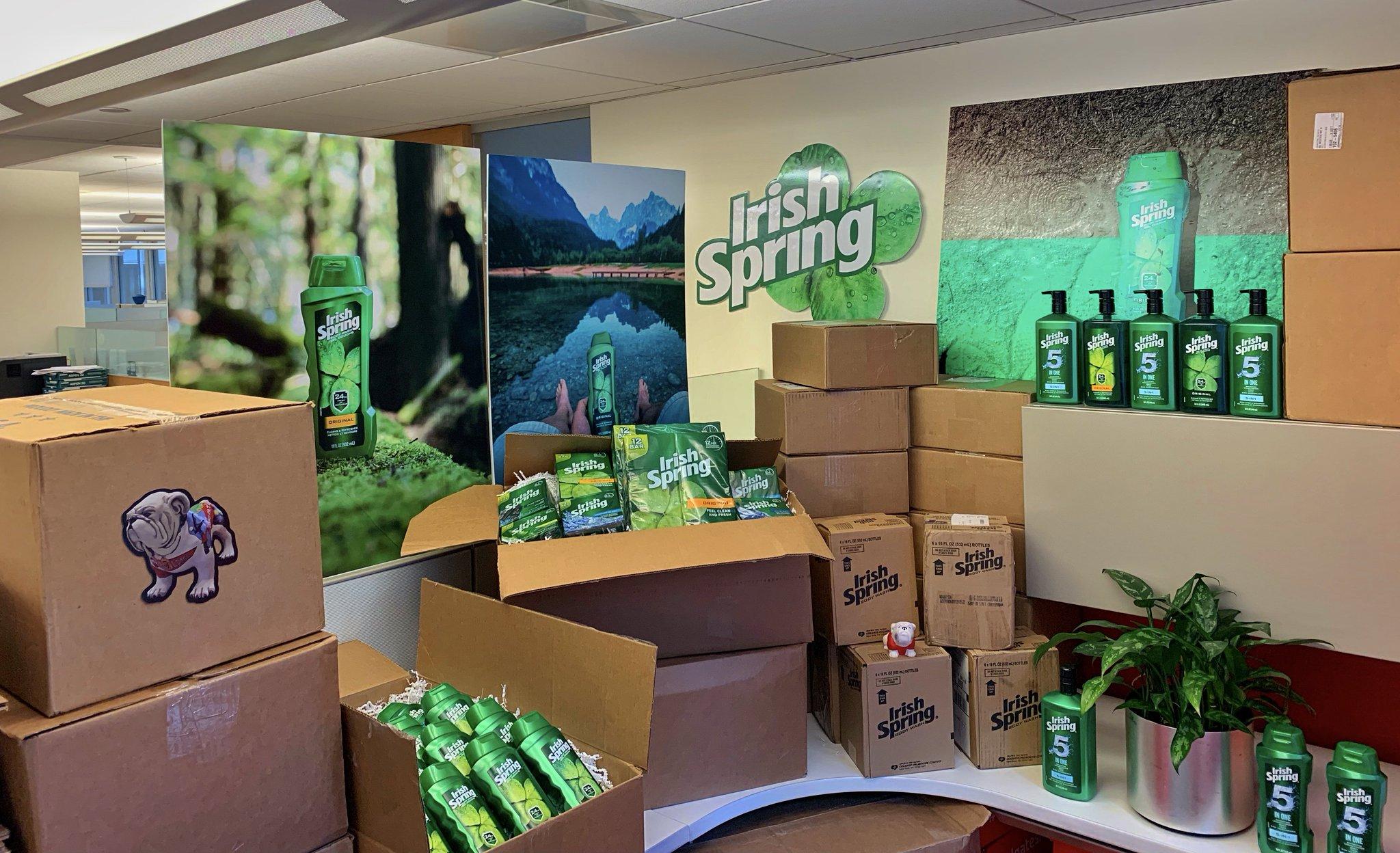 Irish Spring on Twitter