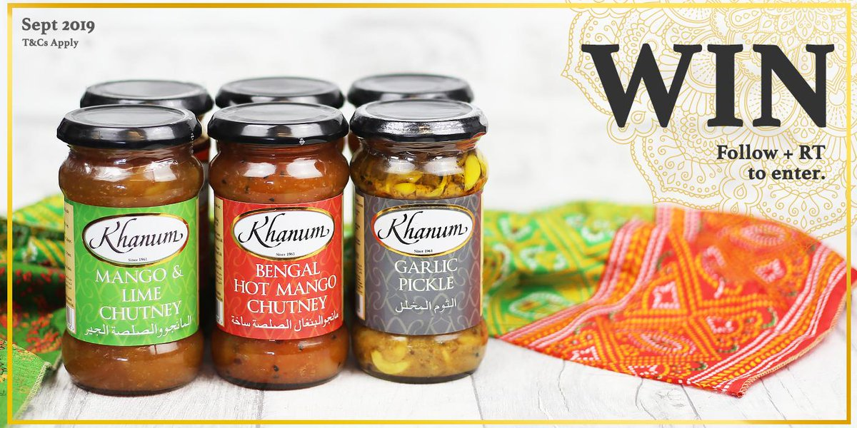 Want the chance to #WIN a bundle of our Chutneys, Pickles and Pastes?   FOLLOW & RT to enter our #competition!  #FreebieFriday #Giveaway<br>http://pic.twitter.com/cNbKSMotwu