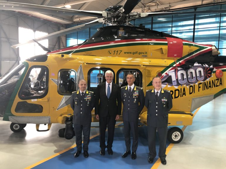 .@LDO_Helicopters delivers 1,000th AW139 #helicopter: bit.ly/2mkGrqX