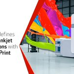 Image for the Tweet beginning: Redefining sheetfed inkjet expectations -