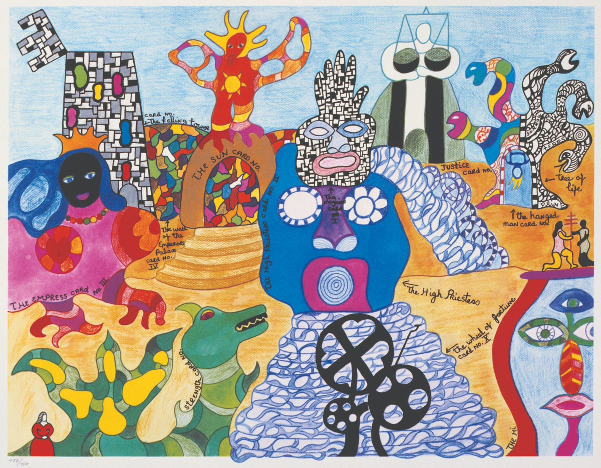 "Coming to MoMA PS1 in April 2020: a major survey of visionary feminist and activist artist #NikideSaintPhalle featuring over 100 works, including models, photos, and drawings of her life work ""Tarot Garden"":  http:// mo.ma/niki     <br>http://pic.twitter.com/N5uX9lbBen"