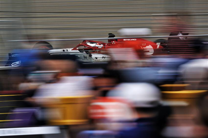 Kimi Räikkönen - FP2:  Position: 16 Best time: 1:41.232 Laps: 28  #Kimi7 #SingaporeGP