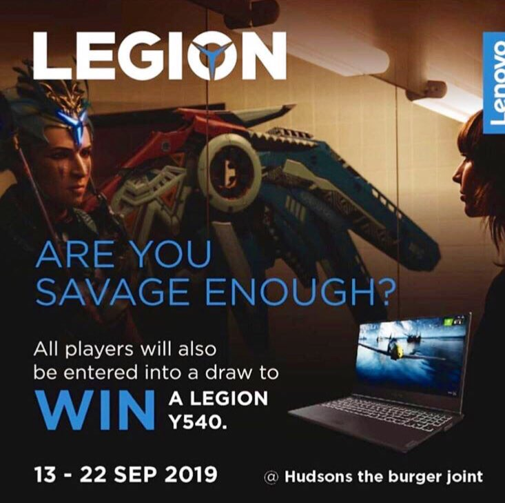 Come join us at @HudsonsBurgers Bedforview and get your savage on. #JoinTheLegion https://t.co/sXBQzyX48Z