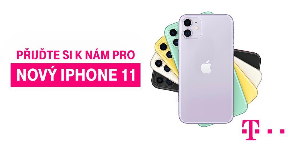 Social Media Post: Horkou novinku iPhone 11 pro vás máme v našich kamenných prodejnách...
