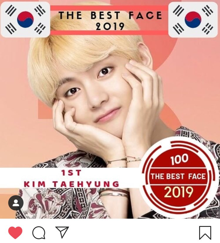 Congratulations to Taehyung for winning 'The Best Face of 2019' at Entertainment Awards! His ethereal beauty out of this World strikes again 💜  Like and leave positive comments: ⤿ https://t.co/C4bmkH64sd #BTSV #V #방탄소년단뷔 #뷔 @BTS_twt https://t.co/5CzH0udtd9