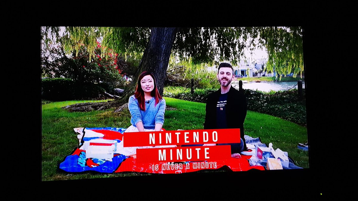 Finishing up #NintendoMinute this morning w/@KitoSan & @Breath0Air. Always an entertaining duo, and after this episode viewing I'm glad that years of breathing in new hardware smell as a kid doesn't make me feel weird about it as an adult. 👍#NintendoSwitchLite #Tranquility