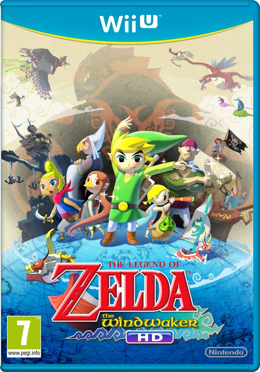 The Legend of Zelda: The Wind Waker HD first released on this day in 2013. A Wii U re-release with new lighting, off-TV play and some minor balance tweaks and improvements