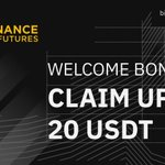 Image for the Tweet beginning: #Binance Futures Launches 200,000 $USDT