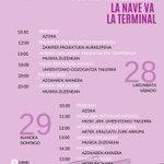 #ZAWP ESPAZIO BERRIEN #AteIrekien Jardunaldiak  👉Irailak 28-29  📍Pintor Ignacio Zuloaga kalea, 3-9 (Zorrotzaurre) #musikazuzenean #tailerrak #gozogintza #azoka #herribazkaria #ukedada #gastrogunea #dantza
