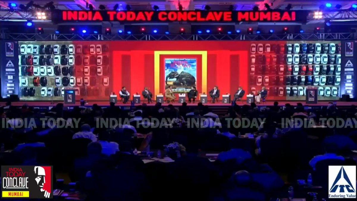 वित्तीय सुधारों पर केंद्रीय मंत्री @PiyushGoyal ने कहा- पिक्चर अभी बाकी है!#ConclaveMumbai19 @rahulkanwalलाइव: http://bit.ly/MumbaiConclave19…