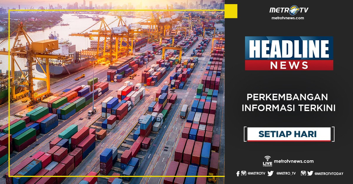 Dapatkan perkembangan informasi terkini dalam #HEADLINENEWS pukul 22.00 WIB di @Metro_TV #KnowledgeToElevate #HeadlineNewsMetroTV http://metrotvnews.com