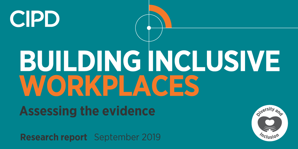 We have so much to share for National Inclusion Week! Well be launching a new evidence-based report written by @CIPDs @Mel_Green_ Building Inclusive Workplaces - therell also be videos, practical tools and much more! We cant wait for #NIW2019 🙌 #CIPDinclusiveWorkplaces