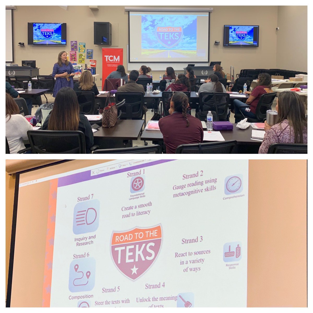 The #RoadtotheTEKS came to @ZapataCoISD with the amazing @MsCarltonsclass Thank you for hosting us! #mytcm  #literacy<br>http://pic.twitter.com/cl6xq9QgQF