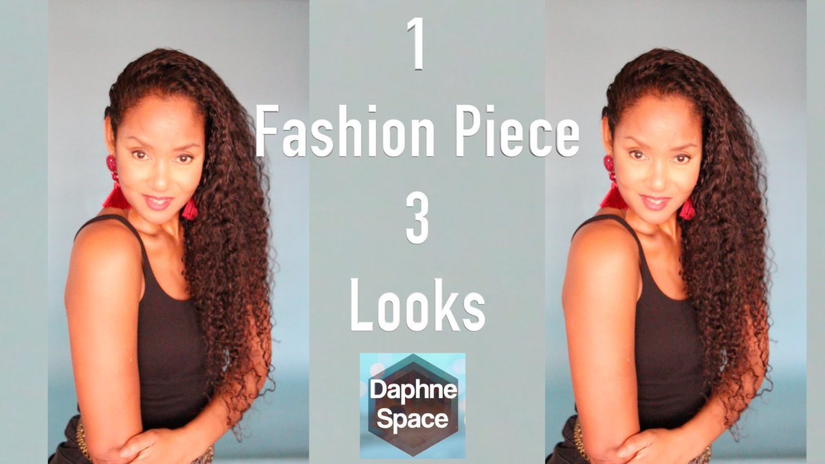 Watch @DaphneSpace                        1 #Fashion  Piece 3 Looks!          Black Faded jeans from #Zara  #beauty  #fashionblogger  #YouTuber  #YouTubeFashion  #model    https://youtu.be/uHiA-SORM0g