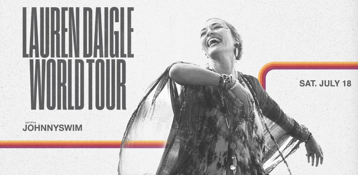 Don't miss out on seeing #OnlyLouisiana native @Lauren_Daigle in her home state next summer!