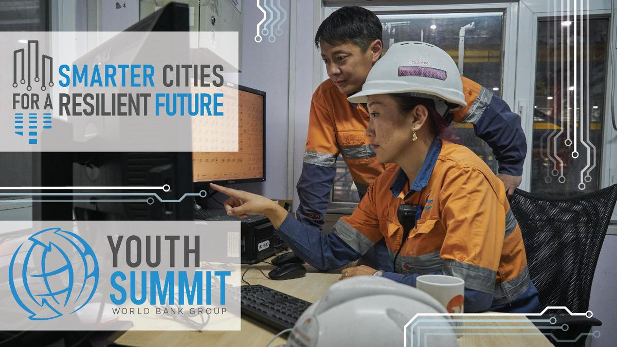 Cities are places of opportunity for #women and men. ✒️APPLY NOW✒️ for the 2019 @WorldBank Youth Summit and share your ideas on how smarter cities can help to promote #GenderEquality ➡️ http://wrld.bg/3lzm50w8A5R #WBGYouthSummit #SmartCities #Cities4All