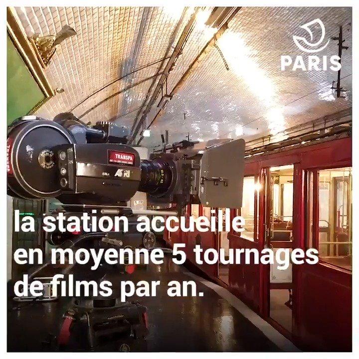 Image for the Tweet beginning: Saviez-vous qu'il existe une station