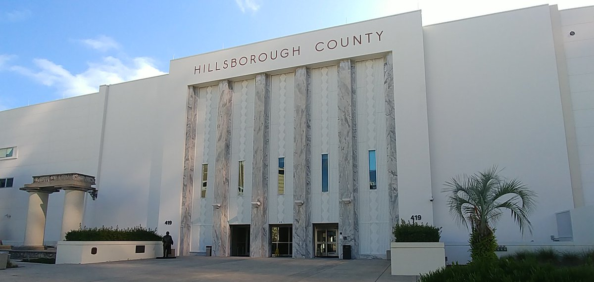Q: How many courtrooms are there in the 13th Judicial Circuit?  A: