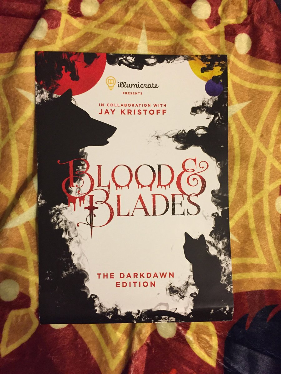 I finally received my Darkdawn ☠️ Blood & Blades ⚔️@illumicrate AND HOT DAMN IS IT GOOD! Quality items. Worth the wait for it to get to America! 10/10 recommend Illumicrate. Thank you for this box~! Catch me unboxing it on IGTV: instagram.com/tv/B2oh540gwxZ/