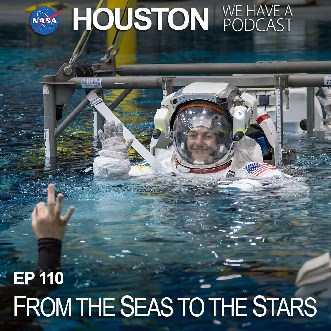 """Set to launch in just a few days, @Astro_Jessica shares her story from conducting research on marine mammals and birds in Antarctica to preparing for her first mission to the @Space_Station on """"Houston, We Have A Podcast."""" nasa.gov/johnson/HWHAP/…"""