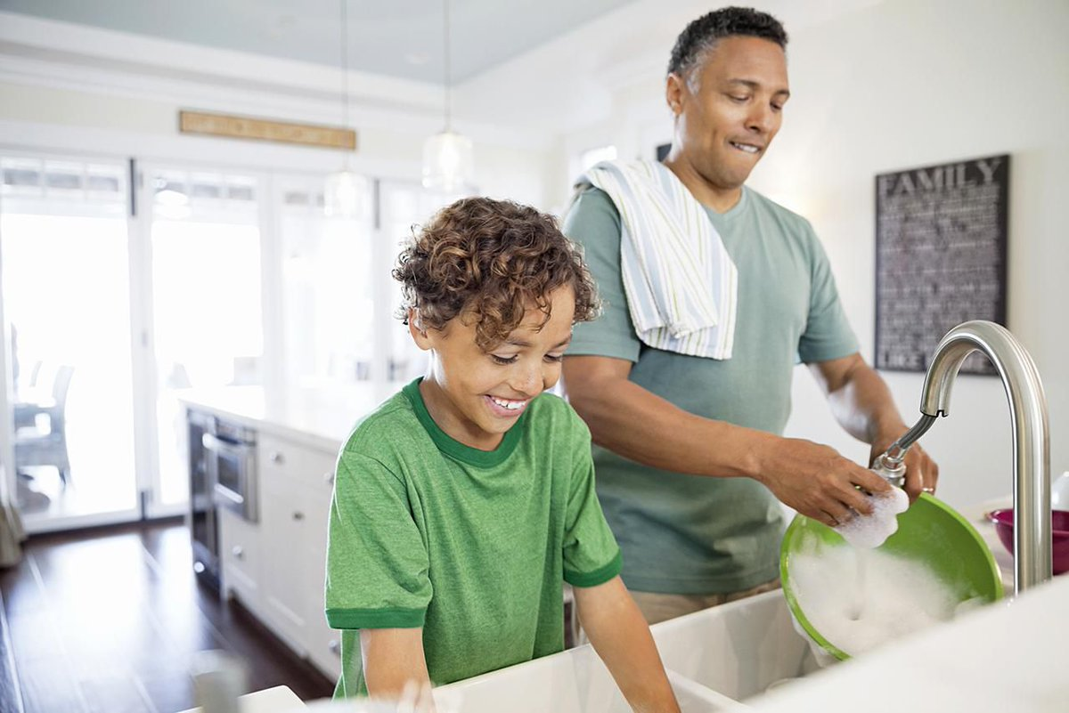 A few simple #chores every day can help you stay on top of your #homecleaning.  http://cpix.me/a/81705479
