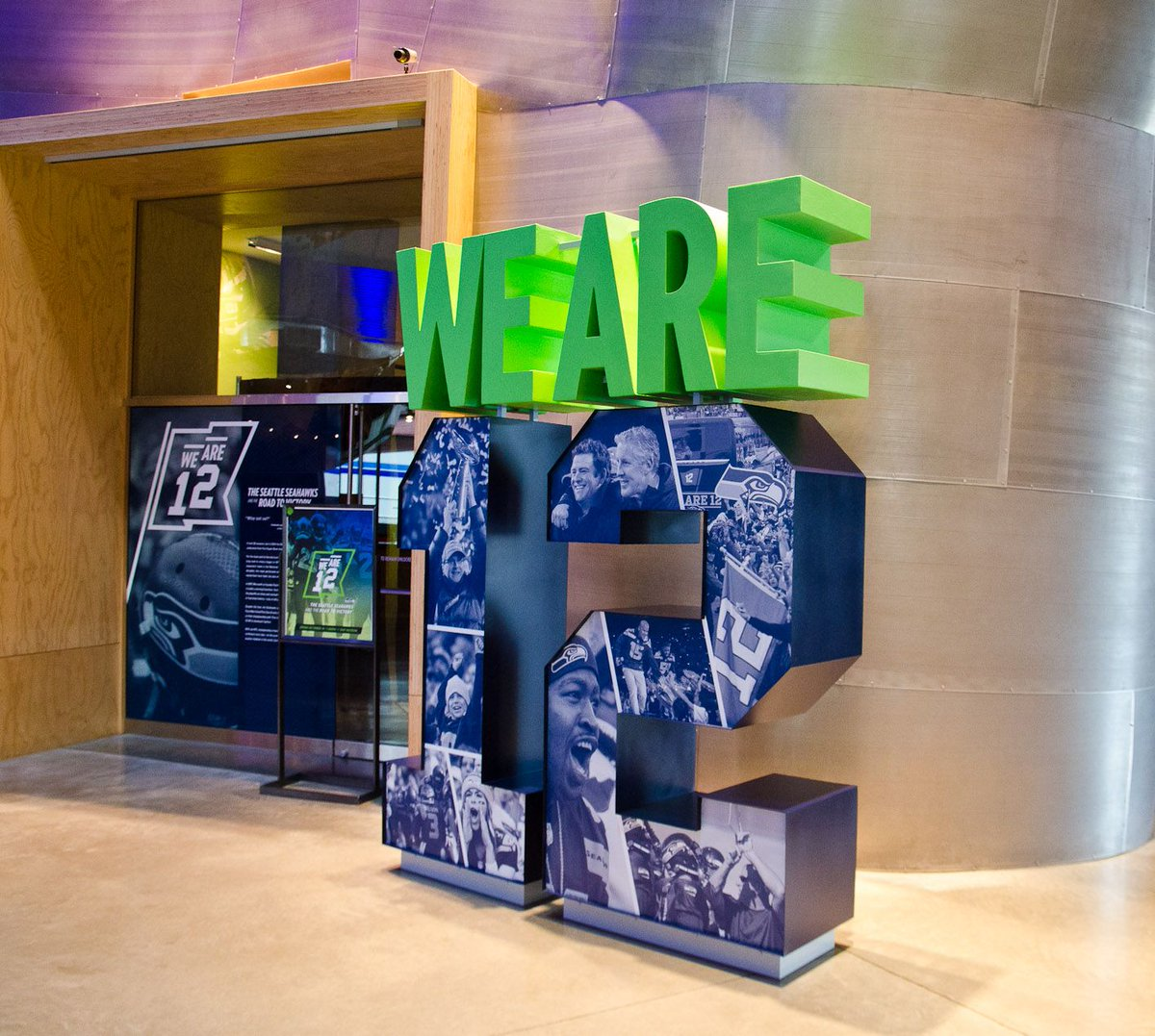 Happy #BlueFriday to our fellow @Seahawks fans! Did you get the chance visit our #WeAre12 exhibition in 2014?