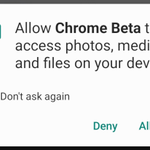 Image for the Tweet beginning: Chrome Beta 78 allows sites