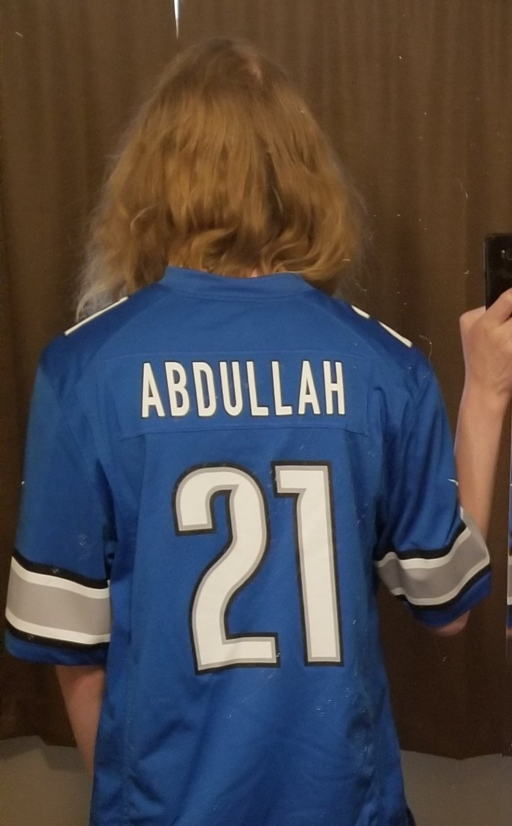 I might be tbe only Lions fan repping an Ameer Abdullah jersey still #OnePride #detroitlions https://t.co/Qzub6FuM9j