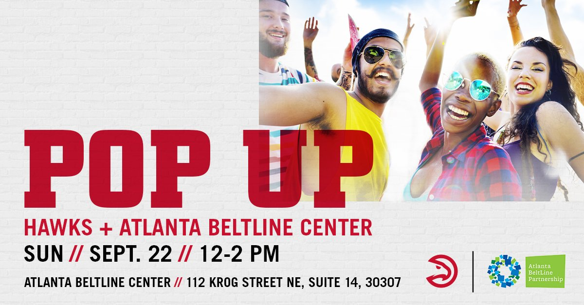We're taking over The Beltline this weekend! We'll be out on Saturday and Sunday, so come by and say hi!   More: http://on.nba.com/2ko6jBG   #TrueToAtlanta