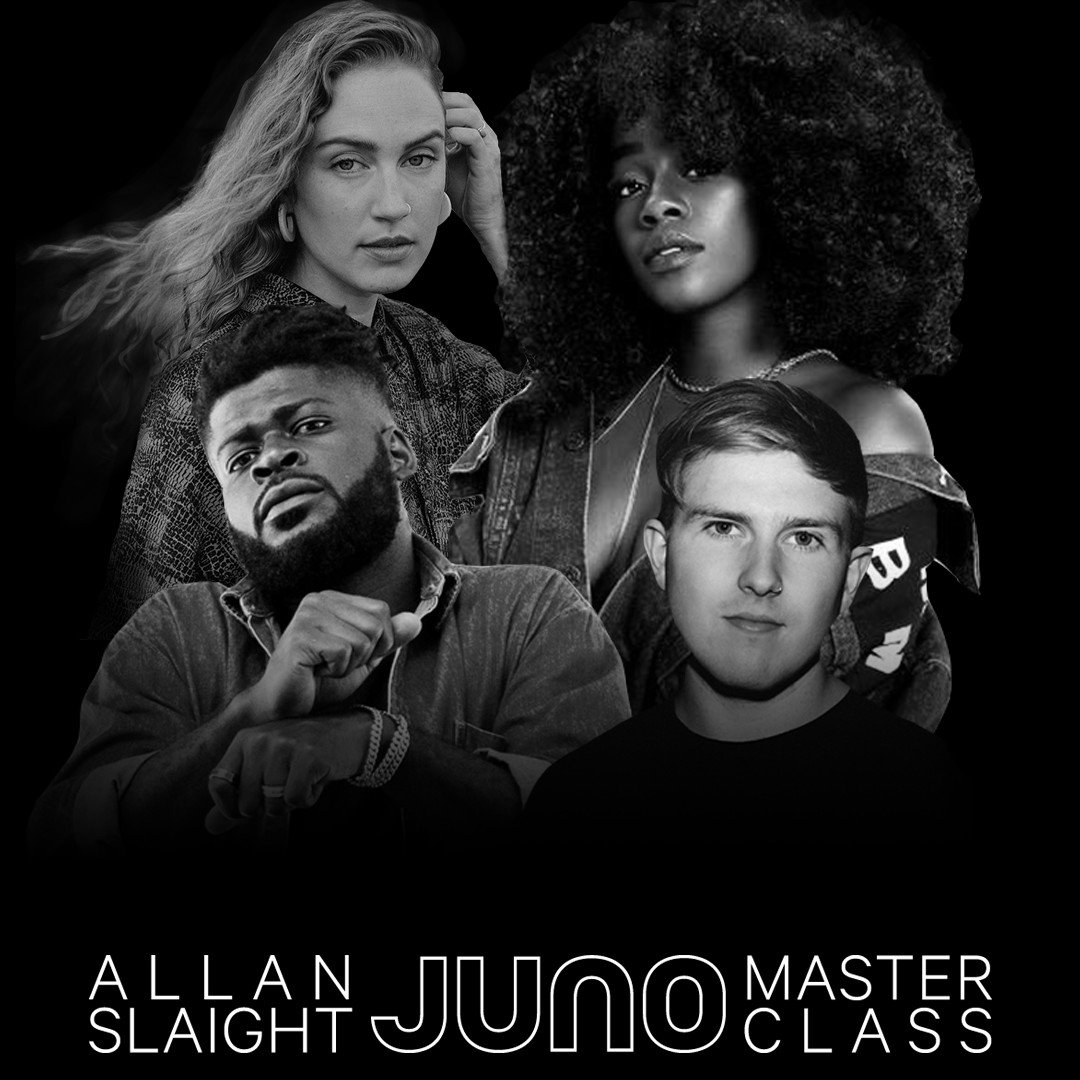 📢 The Class is in Session! Meet the Allan Slaight #JUNOMasterClass of 2019/2020: @aizabby, @fintanmusic, @samlynchmusic and @allofshope ow.ly/XRSD50wgbAC
