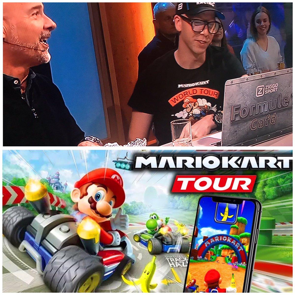 test Twitter Media - Nice shirt @VanGamerenF1 👌🏻 Game komt komende woensdag uit voor smartphones 👌🏻 #MarioKartTour #Nintendo https://t.co/JhVqOTFdJT