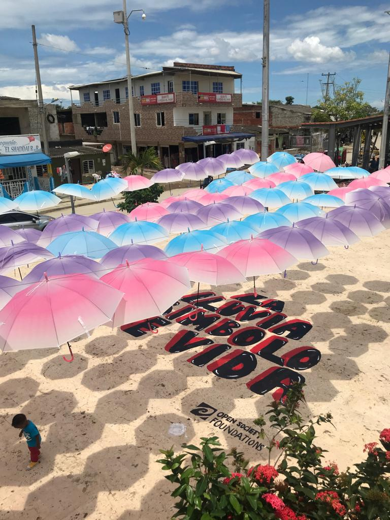 Fenalper | #AEstaHora nos encontramos en el barrio #ElPozón - #Cartagena realizando actividades con la comunidad para disminuir los homicidios. #CeroVeinte -Cero Homicidios al 2020 #OpenSoeciety #LaFuerzaDeNuestrosDerechos