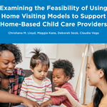 Image for the Tweet beginning: New report from @ChildTrends explores